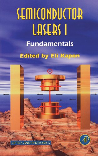 9780123976307: Semiconductor Lasers I: Fundamentals (Optics and Photonics) (Pt. 1)