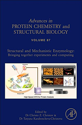 9780123983121: Structural and Mechanistic Enzymology:, Volume 87: Bringing Together Experiments and Computing (Advances in Protein Chemistry)