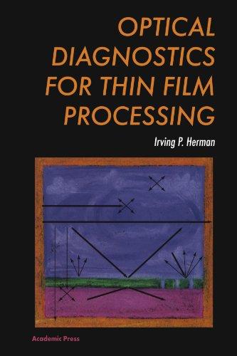 9780123991614: Optical Diagnostics for Thin Film Processing