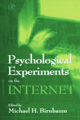 9780123992017: Psychological Experiments on the Internet