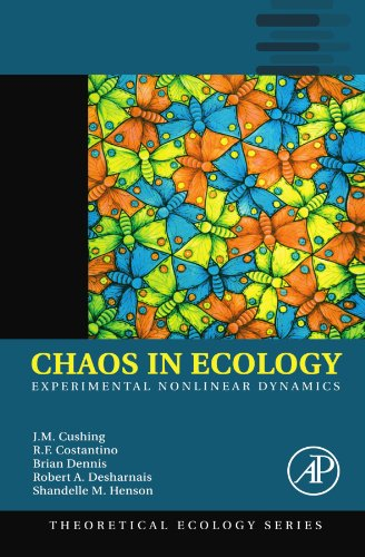 9780123992093: Chaos in Ecology: Experimental Nonlinear Dynamics