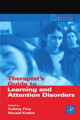 9780123992178: Therapist's Guide to Learning and Attention Disorders