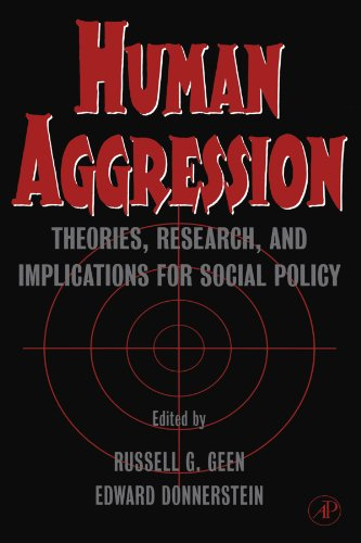 9780123992192: Human Aggression: Theories, Research, and Implications for Social Policy
