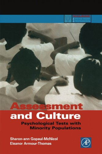 9780123992239: Assessment and Culture: Psychological Tests with Minority Populations