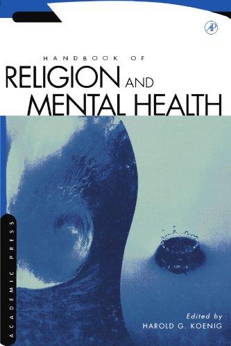9780123992369: Handbook of Religion and Mental Health