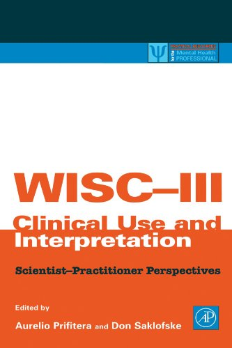 9780123992505: WISC-III Clinical Use and Interpretation: Scientist-Practitioner Perspectives