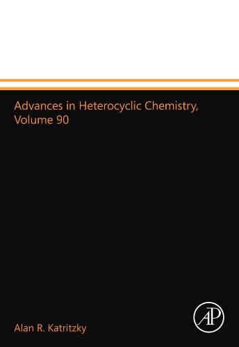 9780123992840: Advances in Heterocyclic Chemistry, Volume 90