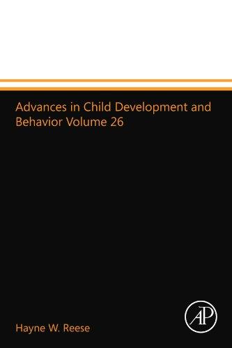 9780123993687: Advances in Child Development and Behavior Volume 26