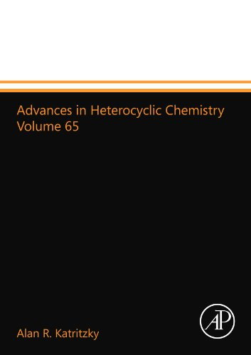 9780123993717: Advances in Heterocyclic Chemistry Volume 65
