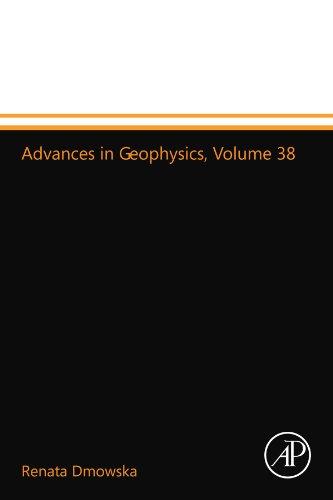 9780123993786: Advances in Geophysics, Volume 38