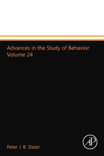9780123993946: Advances in the Study of Behavior Volume 24