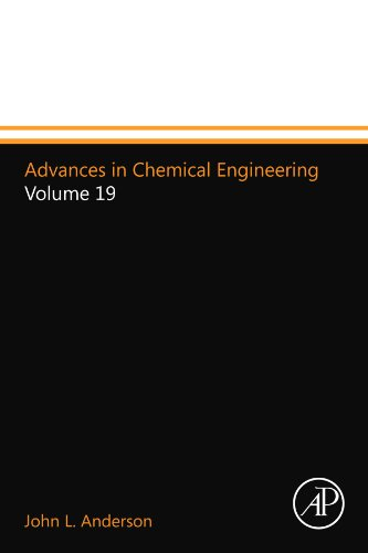 9780123994028: Advances in Chemical Engineering: Volume 19