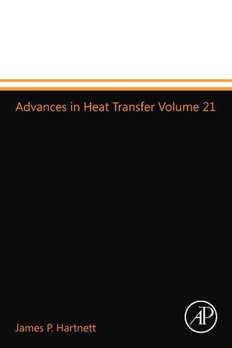 9780123994509: Advances in Heat Transfer Volume 21