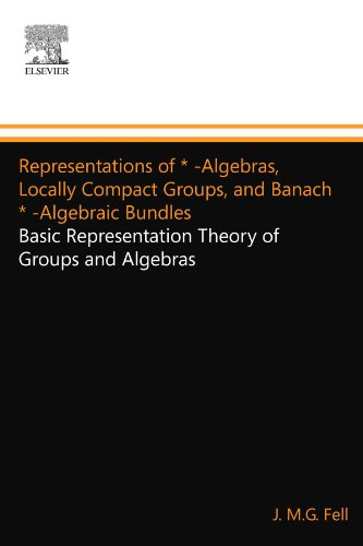 9780123994578: Representations of * -Algebras, Locally Compact Groups, and Banach * -Algebraic Bundles: Basic Representation Theory of Groups and Algebras