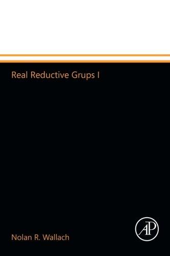9780123994592: Real Reductive Grups I