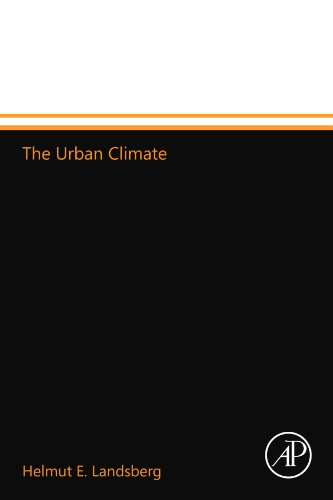 9780123994639: The Urban Climate