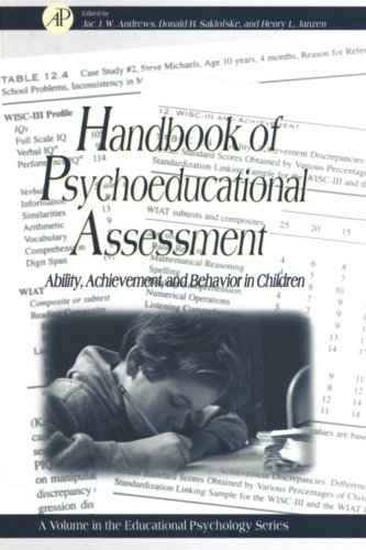 9780123995261: Handbook of Psychoeducational Assessment