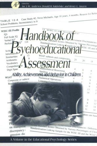 9780123995261: Handbook of Psychoeducational Assessment