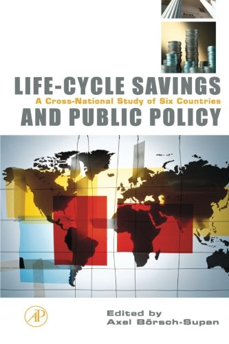 9780123995346: Life-Cycle Savings and Public Policy