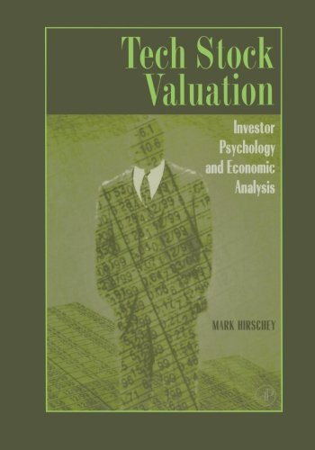 Tech Stock Valuation (0123995620) by Hirschey, Mark