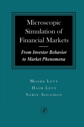 9780123995803: Microscopic Simulation of Financial Markets