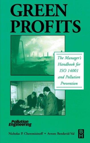 9780123996305: Green Profits