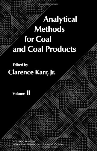 9780123999023: Analytical Methods for Coal and Coal Products, Vol. 2