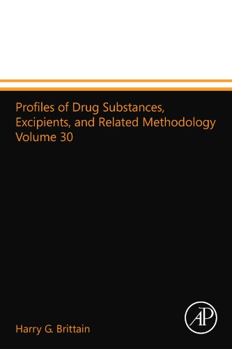 9780124015432: Profiles of Drug Substances, Excipients, and Related Methodology Volume 30