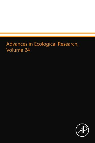 9780124015968: Advances in Ecological Research, Volume 24: Volume 24