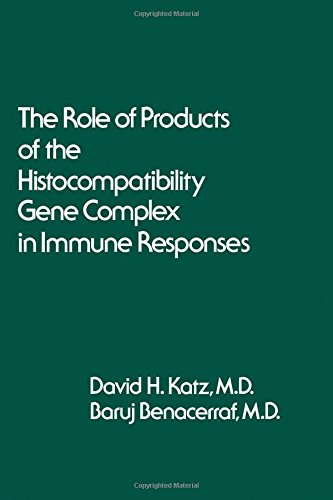 The Role of Products of the Histocompatibility Gene Complex in Immune Responses,: Katz, David J. ...