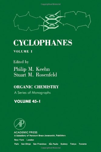 9780124030015: Cyclophanes: v. 1 (Organic chemistry)