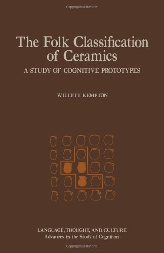 9780124040809: Folk Classification of Ceramics: A Study of Cognitive Prototypes (Language, thought, and culture)