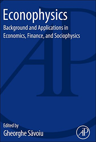 9780124046269: Econophysics: Background and Applications in Economics, Finance, and Sociophysics