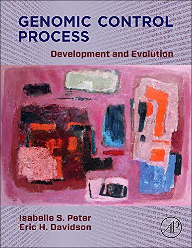 9780124047297: Genomic Control Process: Development and Evolution