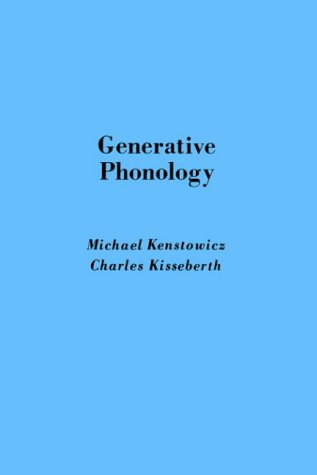 9780124051614: Generative Phonology: Description and Theory