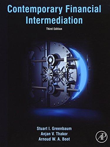9780124051966: Contemporary Financial Intermediation