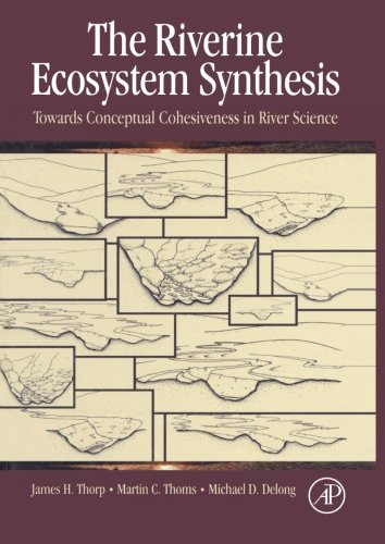 9780124054608: The Riverine Ecosystem Synthesis: Toward Conceptual Cohesiveness in River Science