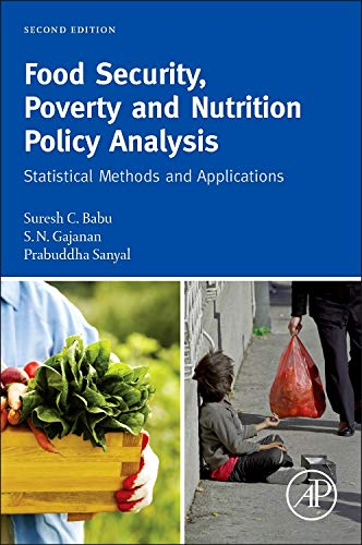 9780124058644: Food Security, Poverty and Nutrition Policy Analysis, Second Edition: Statistical Methods and Applications