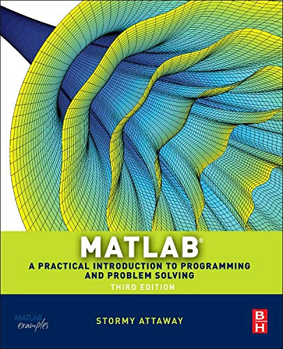 9780124058767: Matlab: A Practical Introduction to Programming and Problem Solving