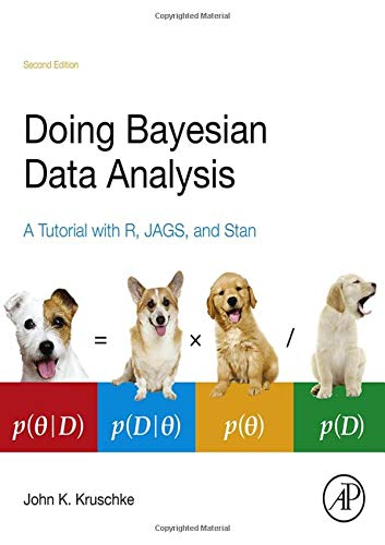 9780124058880: Doing Bayesian Data Analysis: A Tutorial with R, JAGS, and Stan