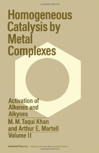Homogeneous Catalysis By Metal Complexes - Volume II Activation of Alkenes and Alkynes: M. M. Taqui...