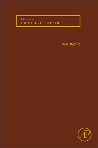9780124071865: Advances in the Study of Behavior, Volume 45
