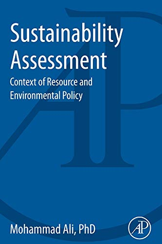 9780124071964: Sustainability Assessment: Context of Resource and Environmental Policy