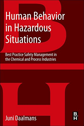 9780124072091: Human Behavior in Hazardous Situations: Best Practice Safety Management in the Chemical and Process Industries