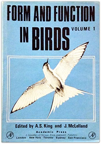 9780124075016: Form and Function in Birds (Form & Function in Birds) Volume1
