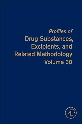 9780124076914: Profiles of Drug Substances, Excipients, and Related Methodology, Volume 38