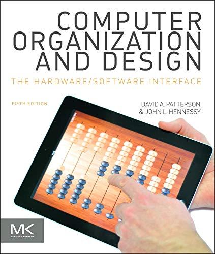 Computer Organization & Design: Patterson