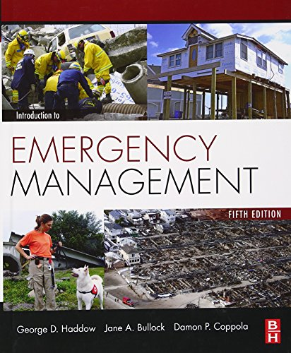 9780124077843: Introduction to Emergency Management, Fifth Edition