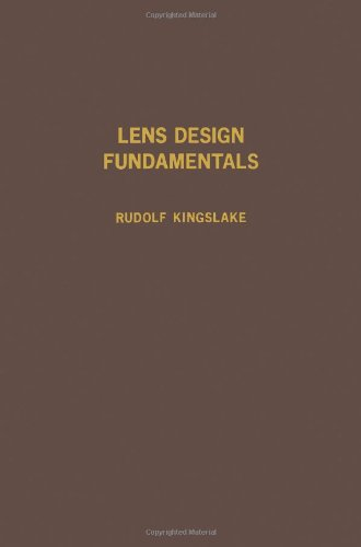 9780124086500: Lens Design Fundamentals