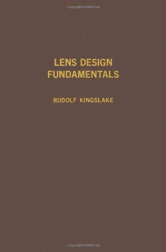 9780124086500: Lens Design Fundamentals